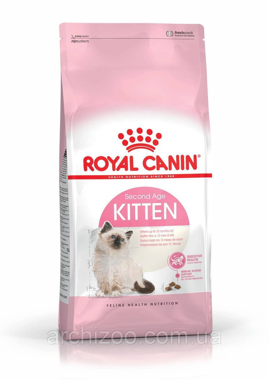 Royal Canin Kitten 2кг для котят до 12 месяцев