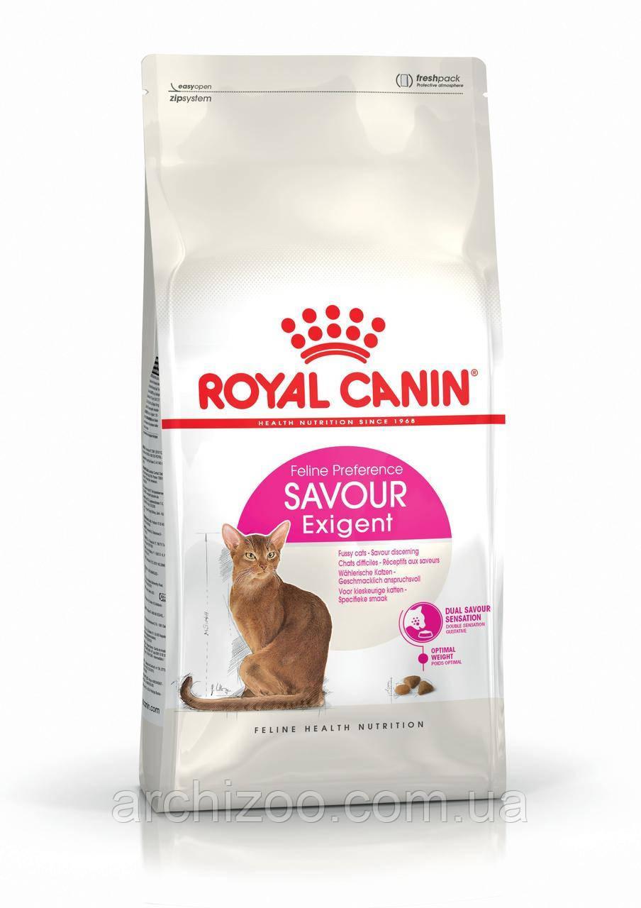 Royal Canin Exigent Savour 2кг для кошек, привередливых ко вкусу продукта