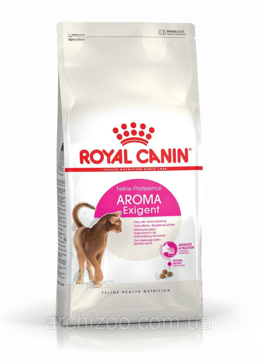 Royal Canin Exigent Aromatic 2кг для взрослых кошек, привередливых к аромату продукта