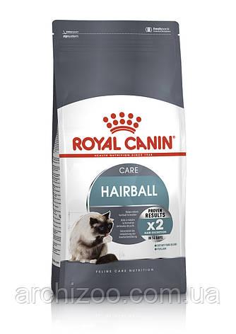 Royal Canin Hairball 0,4кг для взрослых кошек с эффектом выведения шерсти., фото 2