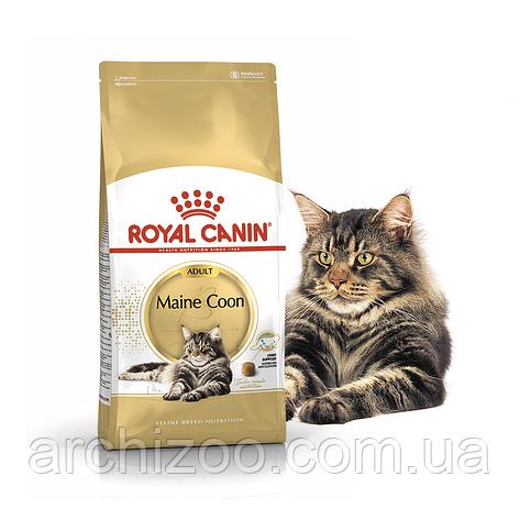 Royal Canin Maine Coon 0,4кг для кошек породы Мейн-кун старше 15 месяцев, фото 2