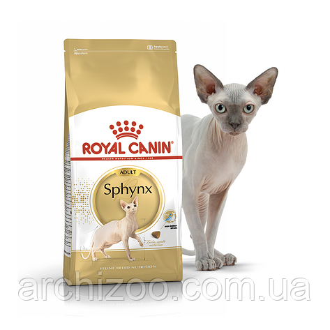 Royal Canin Sphynx 0,4кг для кошек породы сфинкс старше 12 месяцев, фото 2
