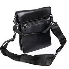 Мужская сумка из экокожи классическая DR. BOND (23*19*5 см) GL 305-2 black, фото 2