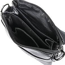 Чоловіча сумка з екошкіри класична DR. BOND (23*19*5 см) GL 305-2 black, фото 3
