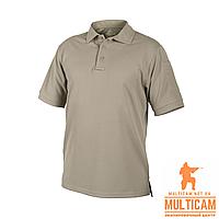 Термофутболка поло Helikon-Tex® UTL Polo Shirt - TopCool® -  Khaki, фото 1