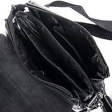 Сумка мужская классическая из экокожи DR. BOND (23*19*5 см) GL 315-2 black, фото 3