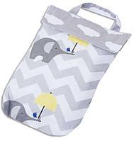 Кармашек для памперсов в сумку Organize E003 слоники - 176313