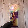 Роза с подсветкой розовая (на вид хрусталь) романтический подарок (Реальные фото!), фото 3