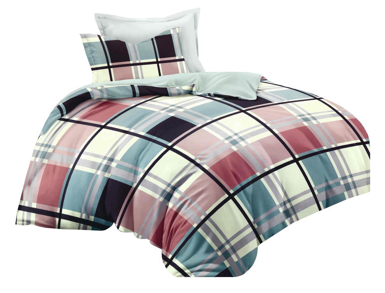 Комплект постельного белья Микроволокно HXDD-711 M&M 4235 Разноцветный