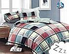 Комплект постельного белья Микроволокно HXDD-711 M&M 4235 Разноцветный, фото 2
