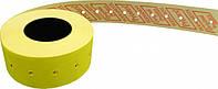 Этикет-лента Printex 21х12 лимонная прямая