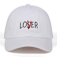 Кепка бейсболка Loser Lover, Біла Унісекс, фото 1