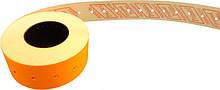 Этикет-лента Printex 21х12 оранжевая прямая