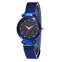 Женские часы Starry Sky Watch с камнями сваровски часы звездного неба c магнитным ремешком