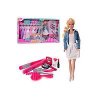 Кукла с нарядами и аксессуарами Defa Lusy 8426-BF