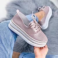 Туфли женские Fets пудра 9541