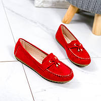 Балетки женские Devis красные 9538