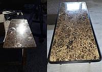 Реставрация столешницы из мрамора