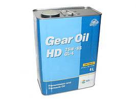 Масло редукторное KIXX Gear Oil HD 75W85 4л