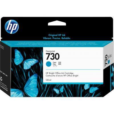 Картридж HP DJ No.730 130-ml Cyan (P2V62A)