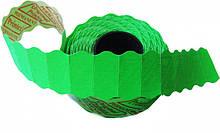 Этикет-лента Printex 26х12 зелёная фигурная