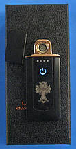 USB-запальничка спіральна Z-030 (малюнок, сенсорна кнопка)