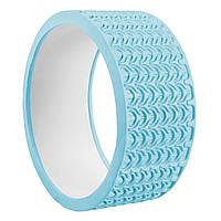 Колесо для йоги и фитнеса SportVida Yoga Wheel SV-HK0224 Sky Blue - 227757