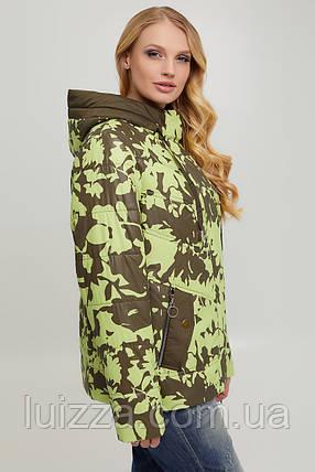 Куртка женская, оливковый 50-60р, фото 2
