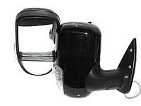 Зеркала наружные 3296А Газель черный глянец, с поворотом (пара)