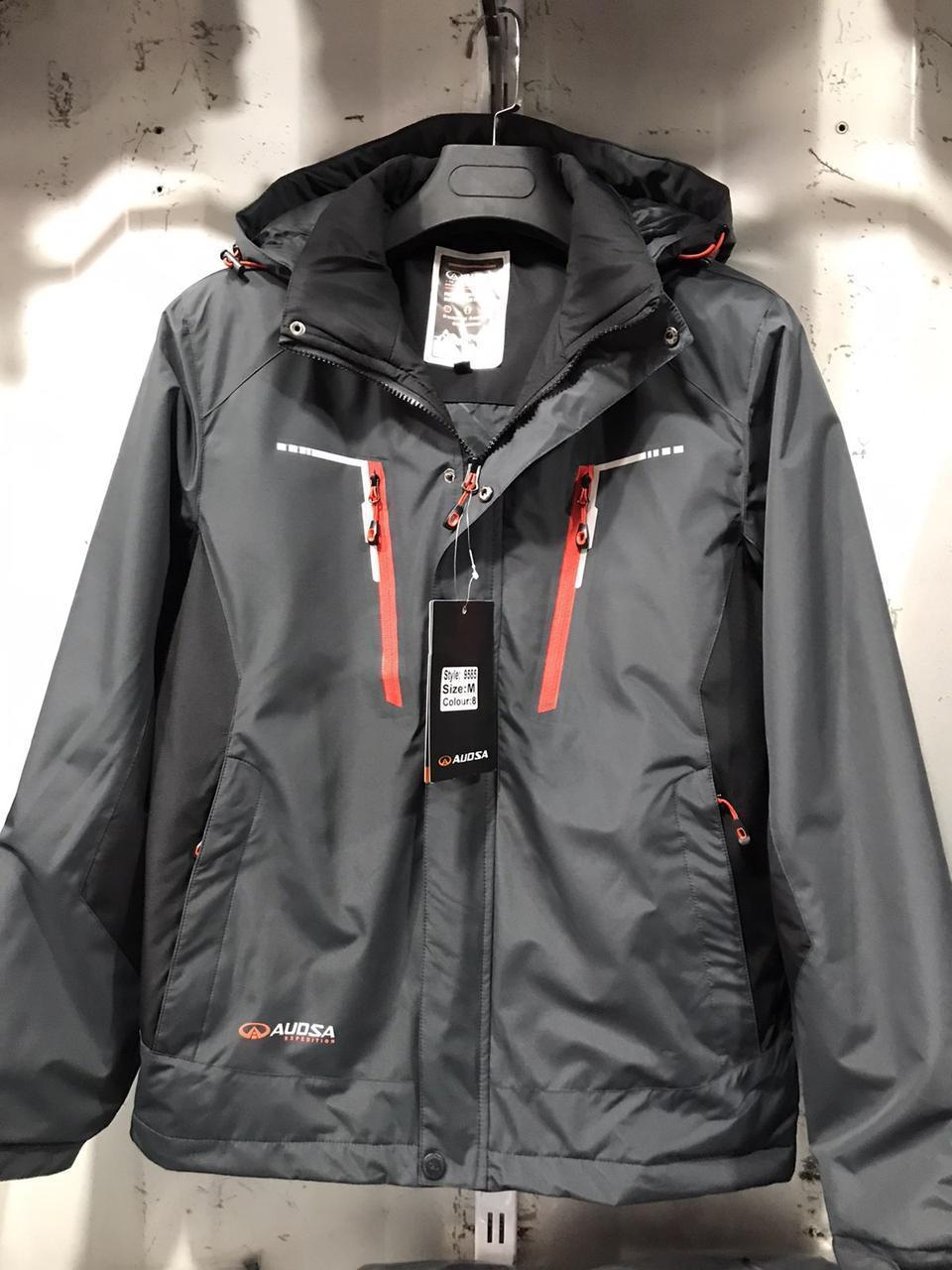 Куртка-ветровка спорт мужская демисезон Китай прямая поставка