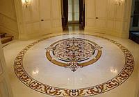 Мозаика из мрамора на пол