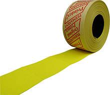 Этикет-лента 29 x 28 желтая, прямая (Printex)