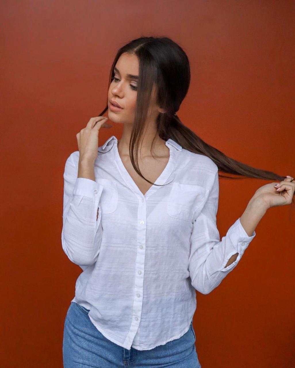 Рубашка женская однотонная турция фабричная прямая поставка