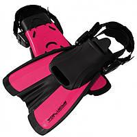 Ласты SportVida SV-DN0008JR-M Size 34-38 Black-Pink - 227660