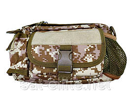 Тактическая сумка на пояс N02226 Pixel Desert
