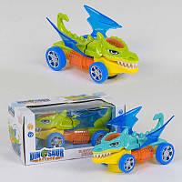 Машинка YX 002 Динозаврик 602 2 цвета, со светом, звук, 1шт - 220291