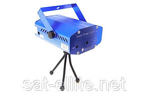 Лазерный проектор мини стробоскоп 4 в 1 4053