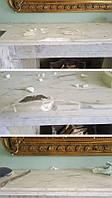 Реставрация камина из мрамора