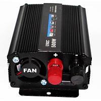 Преобразователь UKC авто инвертор 12V-220V 500W, фото 1