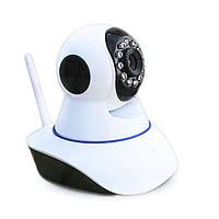 Беспроводная поворотная IP камера WiFi microSD 6030, фото 1
