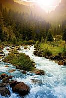 Обогреватель-картина инфракрасный настенный ТРИО 400W 100 х 57 см, горная река