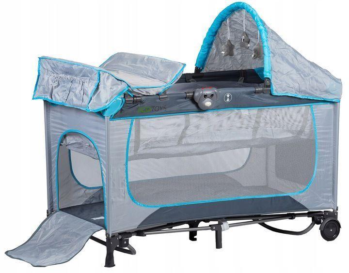 Детские кроватки для путешествий качающееся Ecotoys 625A