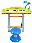 Детское пианино с фикрофоном BB386A YELLOW