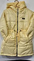 """Куртка-парку підліткова демісезонна на дівчинку 116-140 см """"BENTLEY"""" недорого від прямого постачальника"""