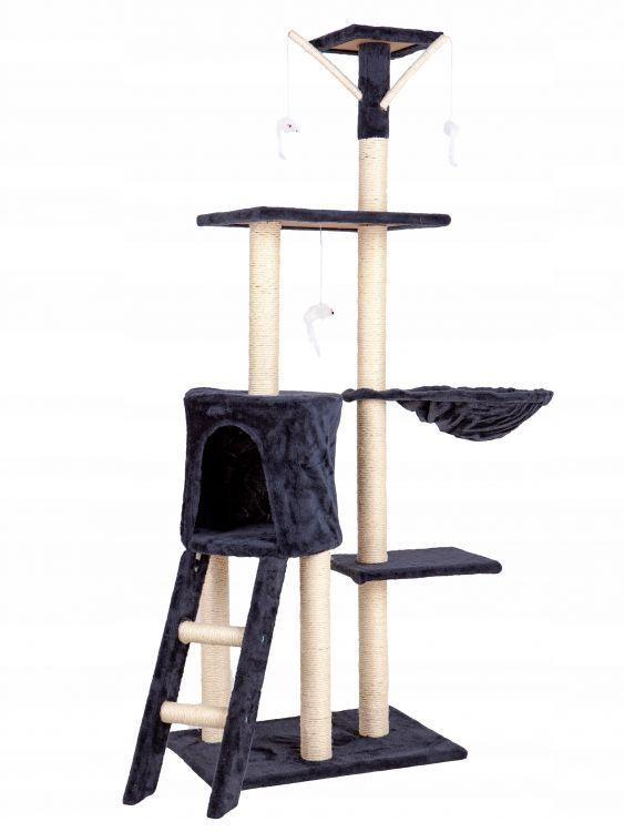 Дралка для кота домик legowisko 138cm xl DRAPAK01 GRAY