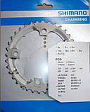 Звезда Shimano Deore FC-M532, 36 зубов, стальная, фото 2