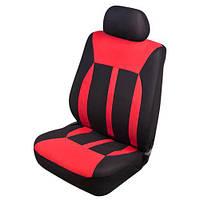 Набор чехлов Polyester передние сиденья VSC-38261P-6 BK/RD