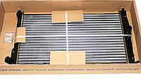 Радиатор охлаждения на DAEWOO LANOS 1.5 и 1.6 16V с кондиционером (Nіssens)