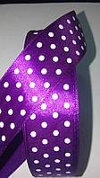 Лента для рукоделия фиолетовая