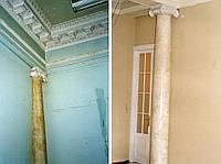 Реставрация колонны из мрамора